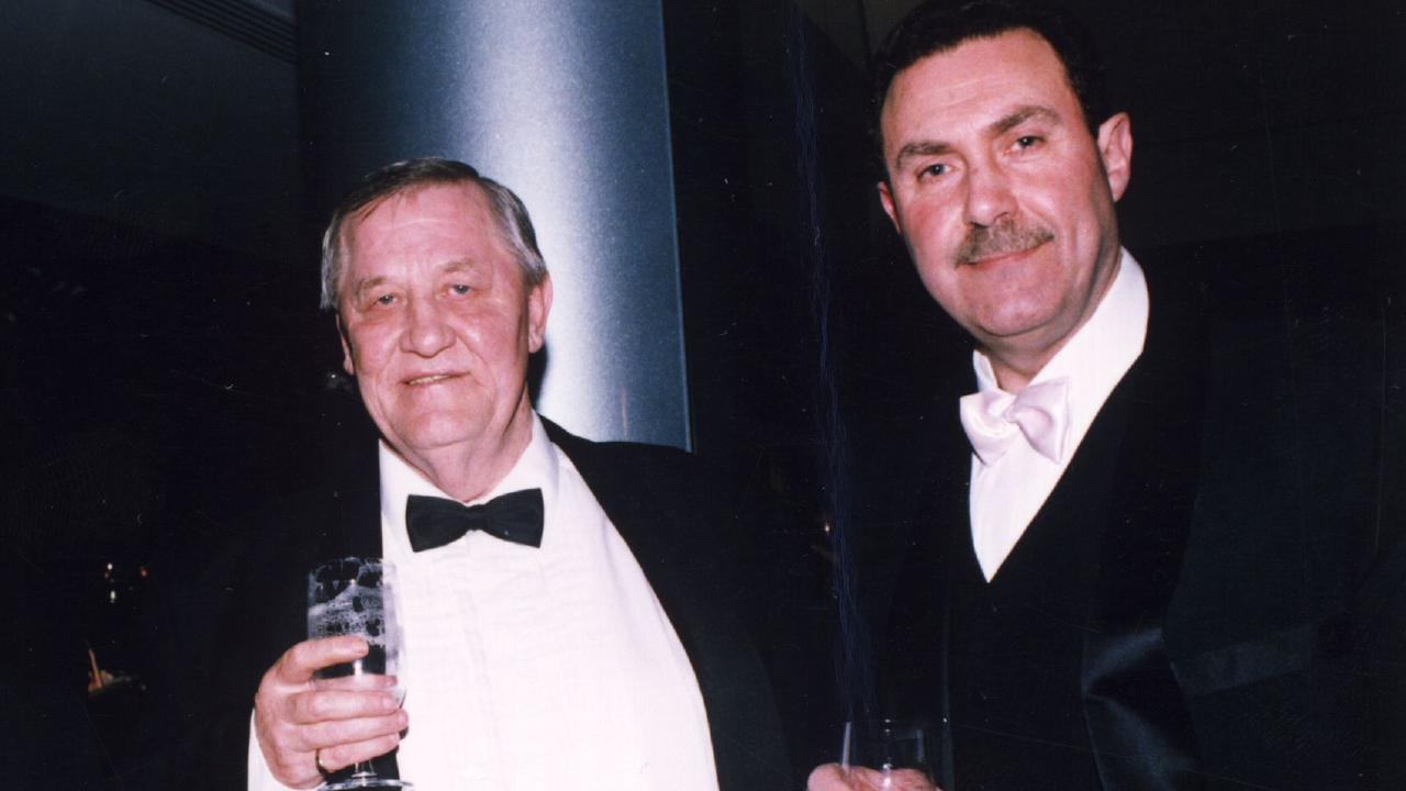 Graham Kinniburgh (left) with Condello. Picture: Supplied