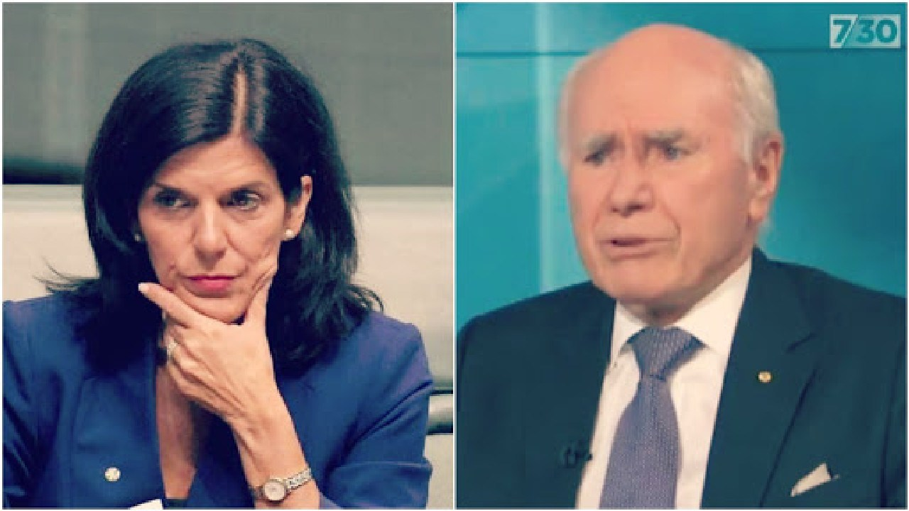 John Howard has a message for Julia Banks.