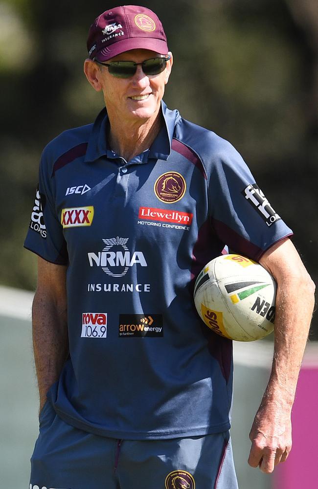 Wayne Bennett is digging his heels in at Brisbane.