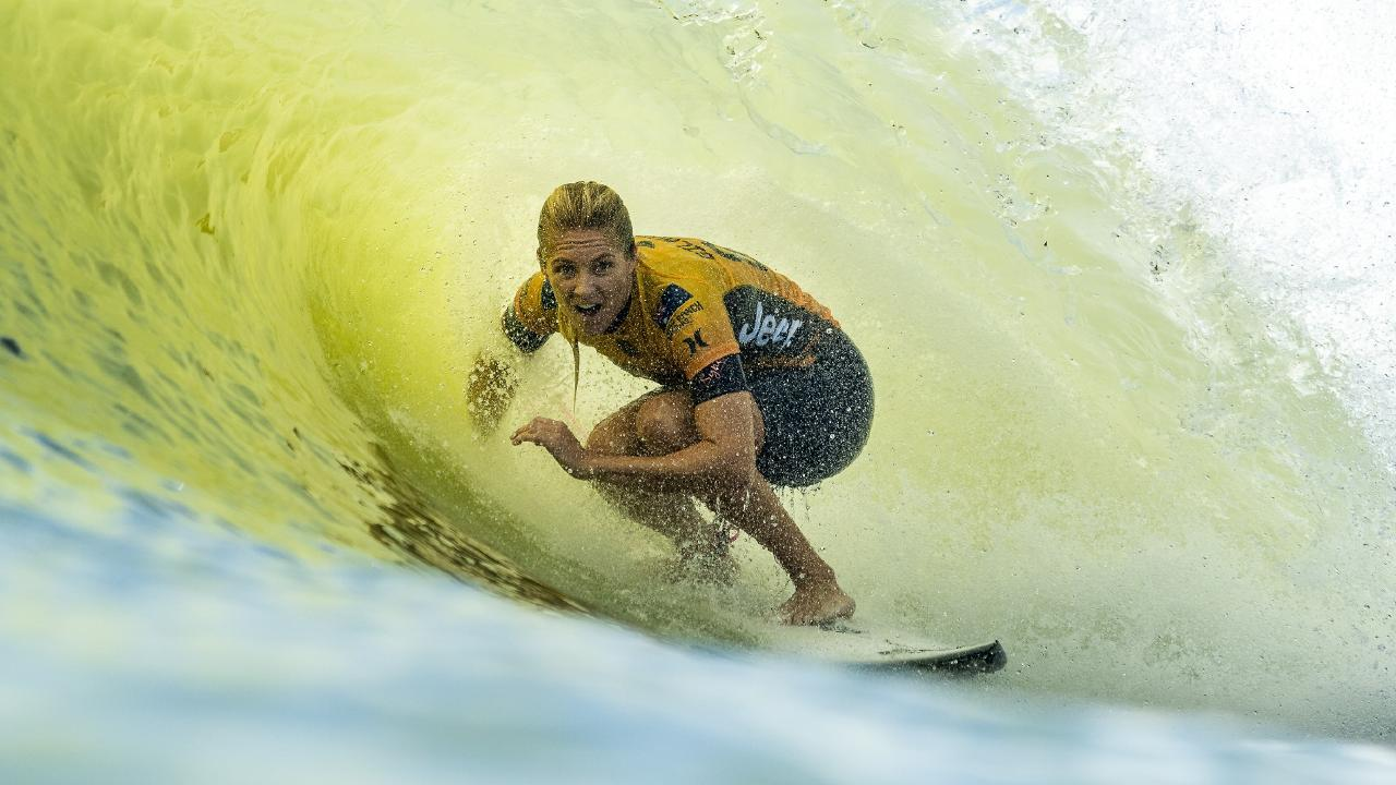 Stephanie Gilmore has won her seventh world surfing title.