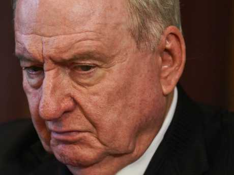 Radio broadcaster Alan Jones during the launch of the book where he slammed the Aussie education system.