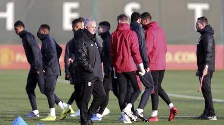 Manchester United's manager Jose Mourinho