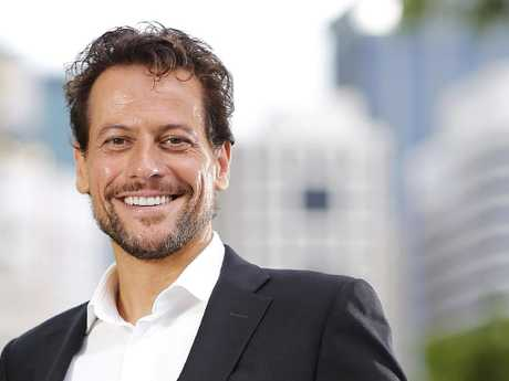 Welsh actor Ioan Gruffudd plays Dr Daniel Harrow in the ABC crime drama. Picture: AAP/Josh Woning