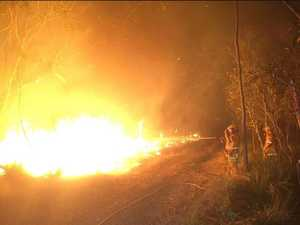 Residents urged to leave as fires take hold