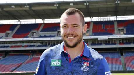 Klemmer is Newcastle's biggest name signing in years. AAP Image/Darren Pateman.