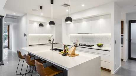 The kitchen has an expansive feel. Picture: Steve Ryan/Supplied