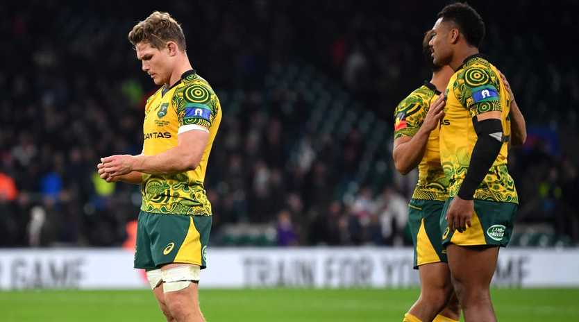 The Wallabies have had a horror year with just four Test wins.