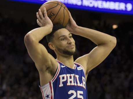 Ben Simmons is yet to commit. Picture: AFP
