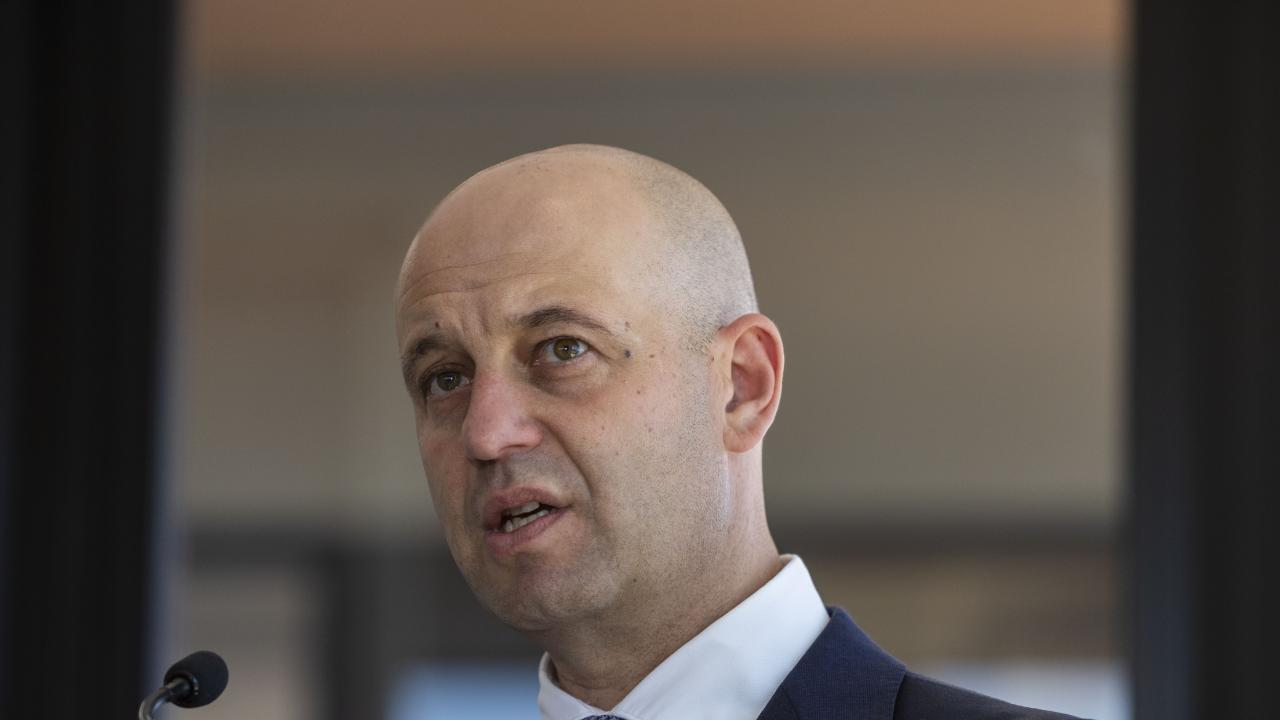 NRL CEO Todd Greenberg has hit back at Labor over talk it will quit the stadiums deal. Picture: AAP