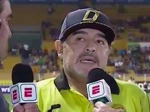 Maradona back as coach in Argentina