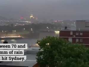 Torrential rain hits NSW