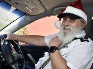Santa cabbie