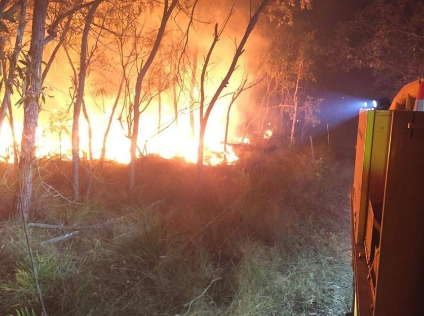 RURAL FIRE: Bungadoo's Rural Fire Service crew spent the day at Agnes Water and Deepwater fire, they arrived back in the area late in the evening after a third day at it.
