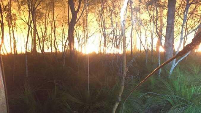 Deepwater bushfire