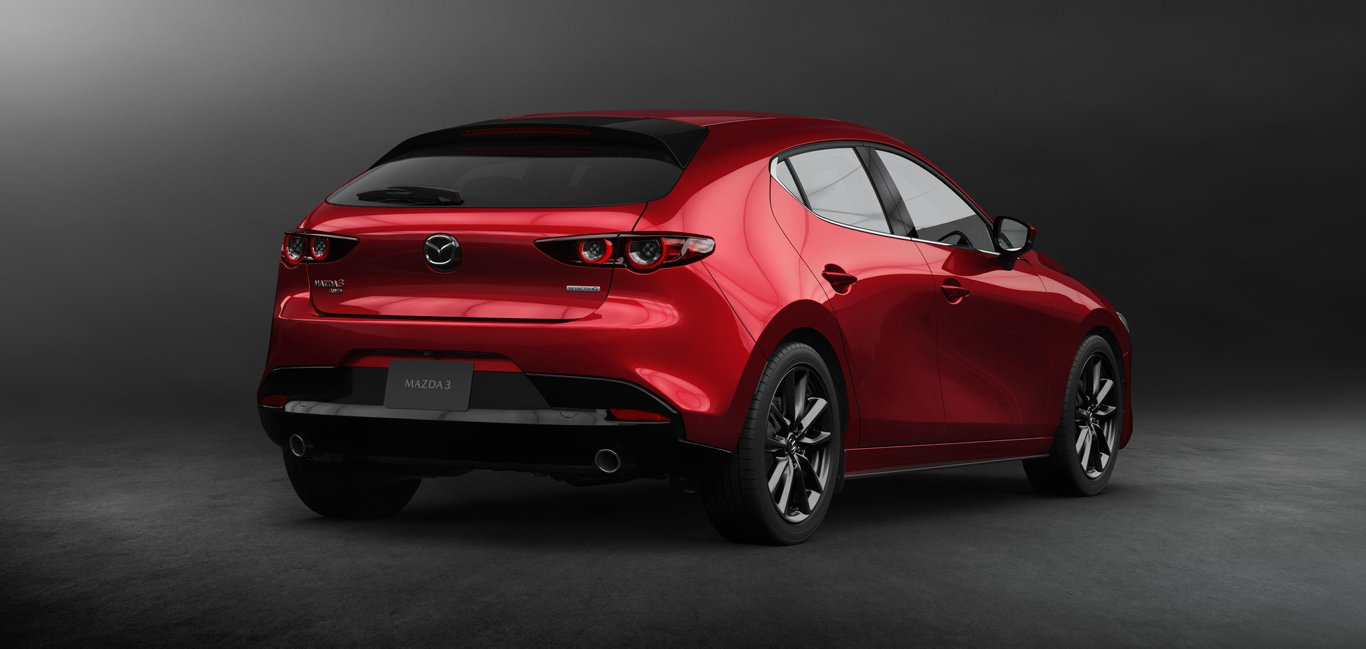 The 2019 model Mazda3 has just been revealed.