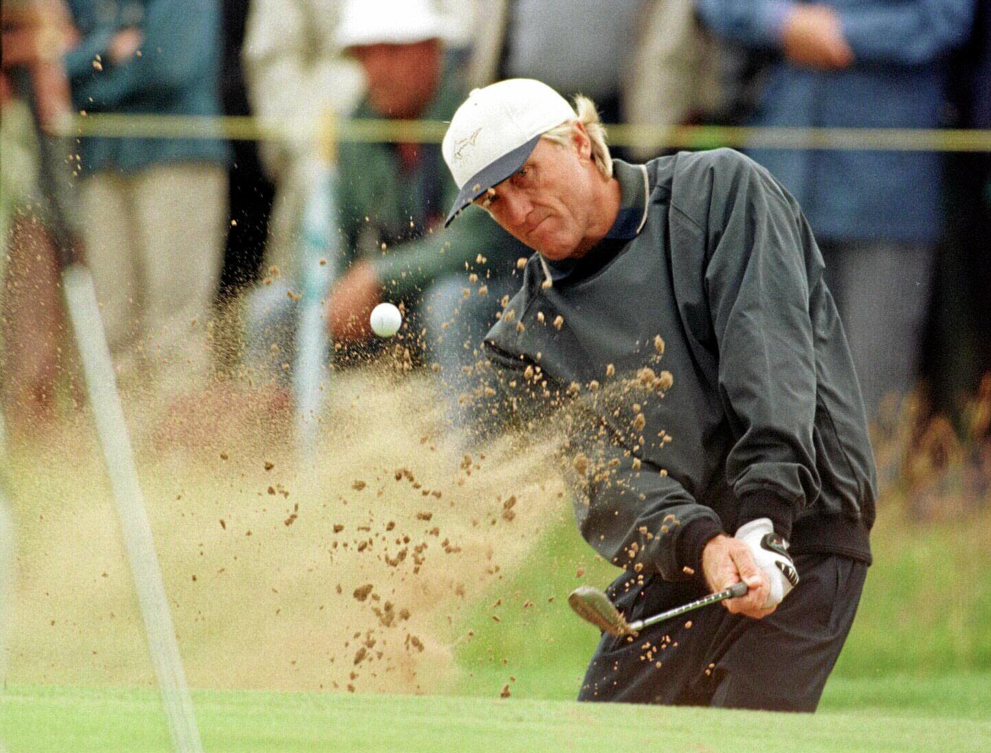 Greg Norman is a two-time winner of the British Open.