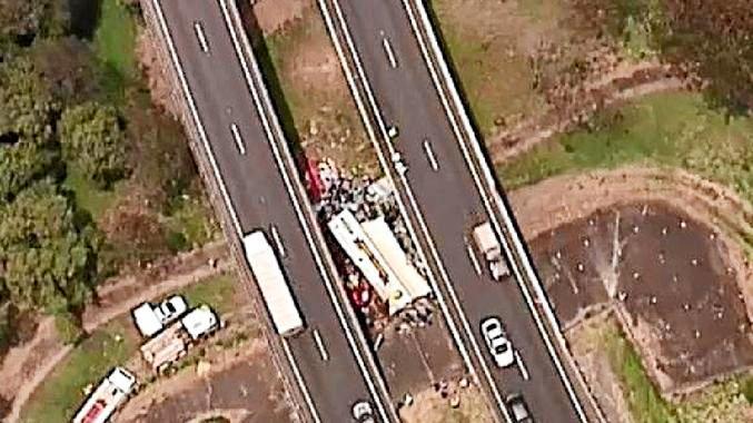 Logan motorway tragedy.