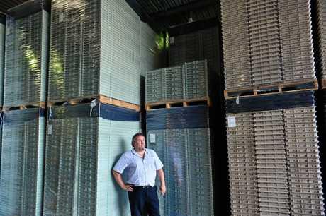 REEL GOOD: General manager of Total Plastics Solutions Pascal Trojman.