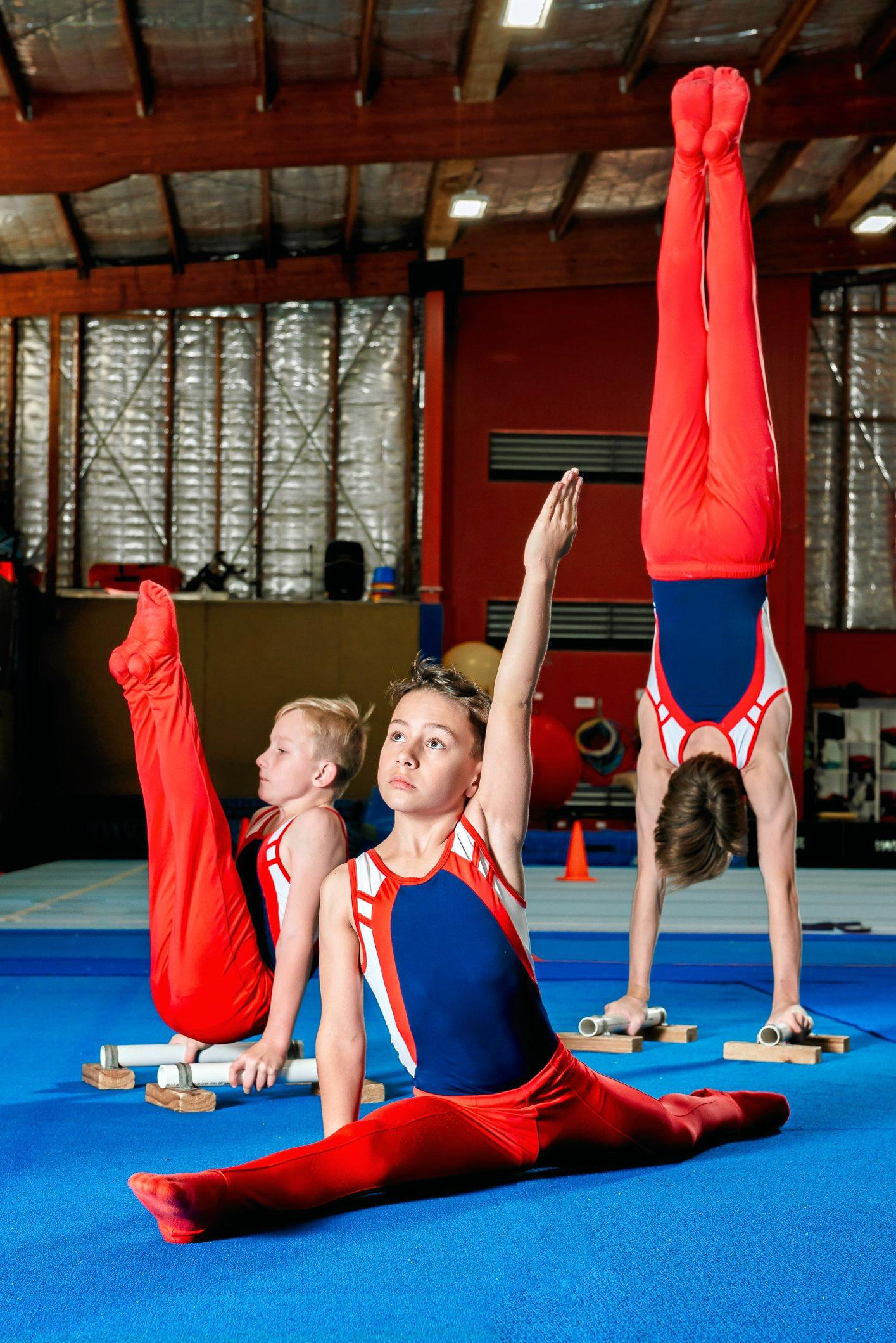 BALANCING ACT: The Gladstone Gymnastics Club will be holding 2 performances on Sunday at the GECC.