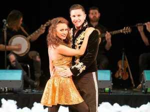 Star dancers offer a taste of Irish Christmas