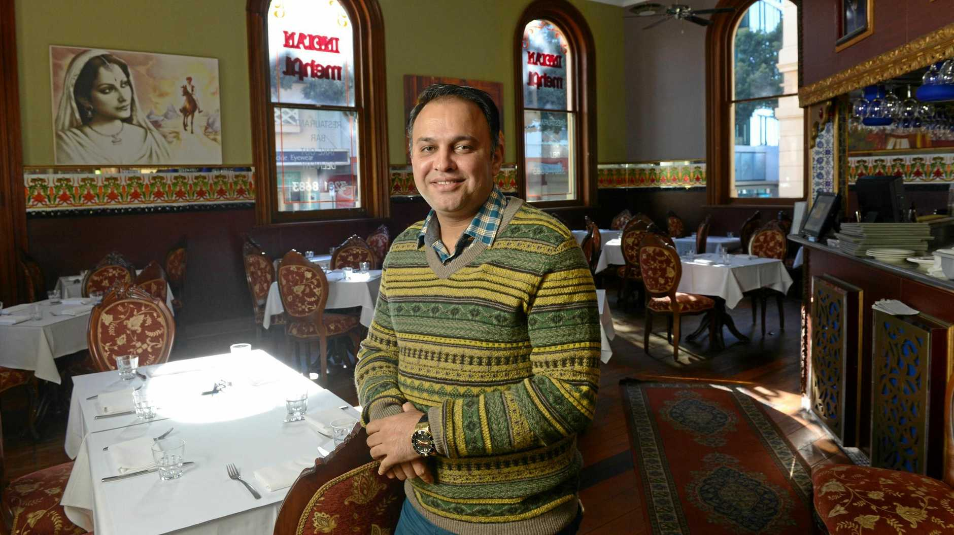 Ipswich businessman Rajesh Sharma will open his Indian Mehfil restaurant for free meals on Christmas Day.