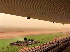 A dusty day for southwest region