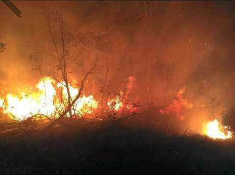 RURAL FIRE: Two Sunshine Coast