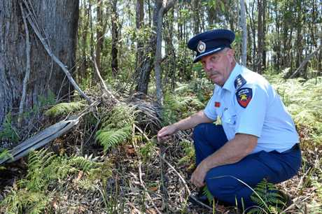 Sunshine Coast Rural Fire Services inspector Andrew Allan says nowhere on the Coast is safe from fire danger right now.