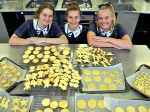 Fairholme students bring baked relief to drought communities