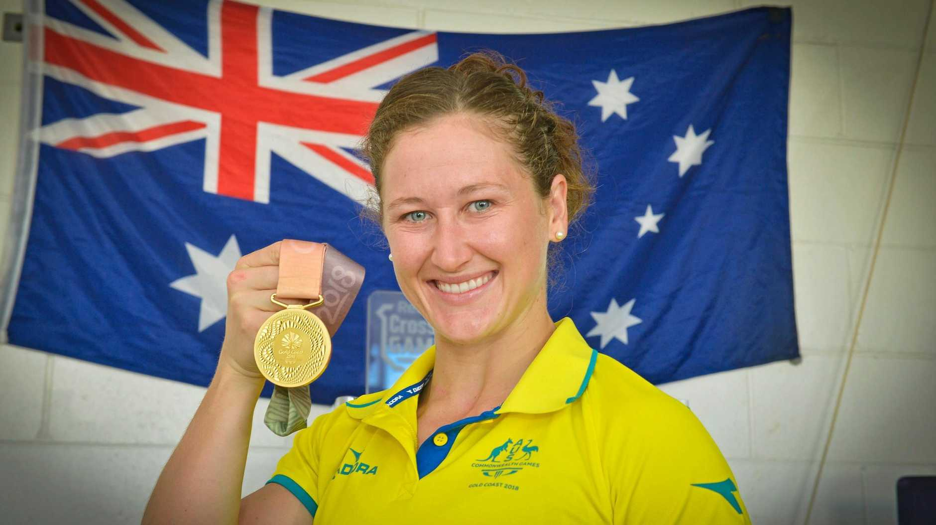 Tia-Clair Toomey is back in Gladstone.