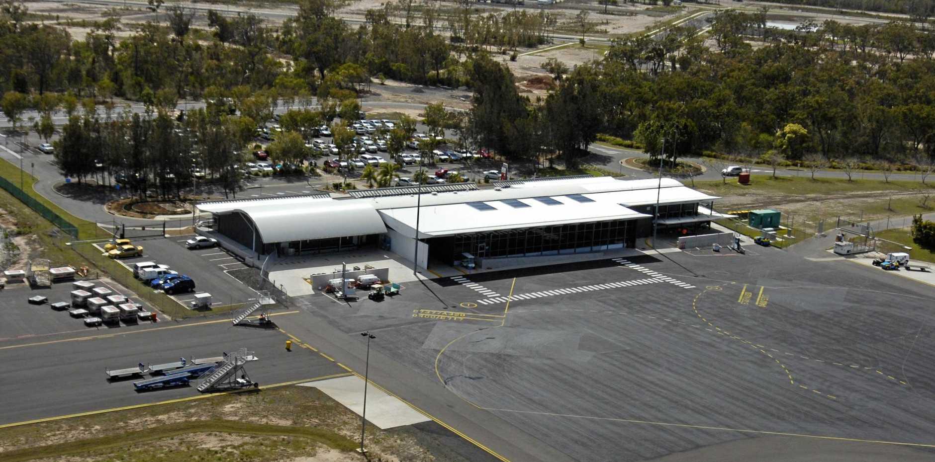 Aerials - Hervey Bay - Airport.Photo: ALISTAIR BRIGHTMAN 07h2219v