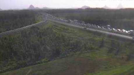 Heavy congestion remains on the Bruce Hwy.