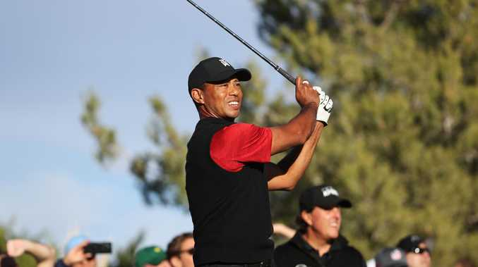 Tiger Woods is hunting more majors.
