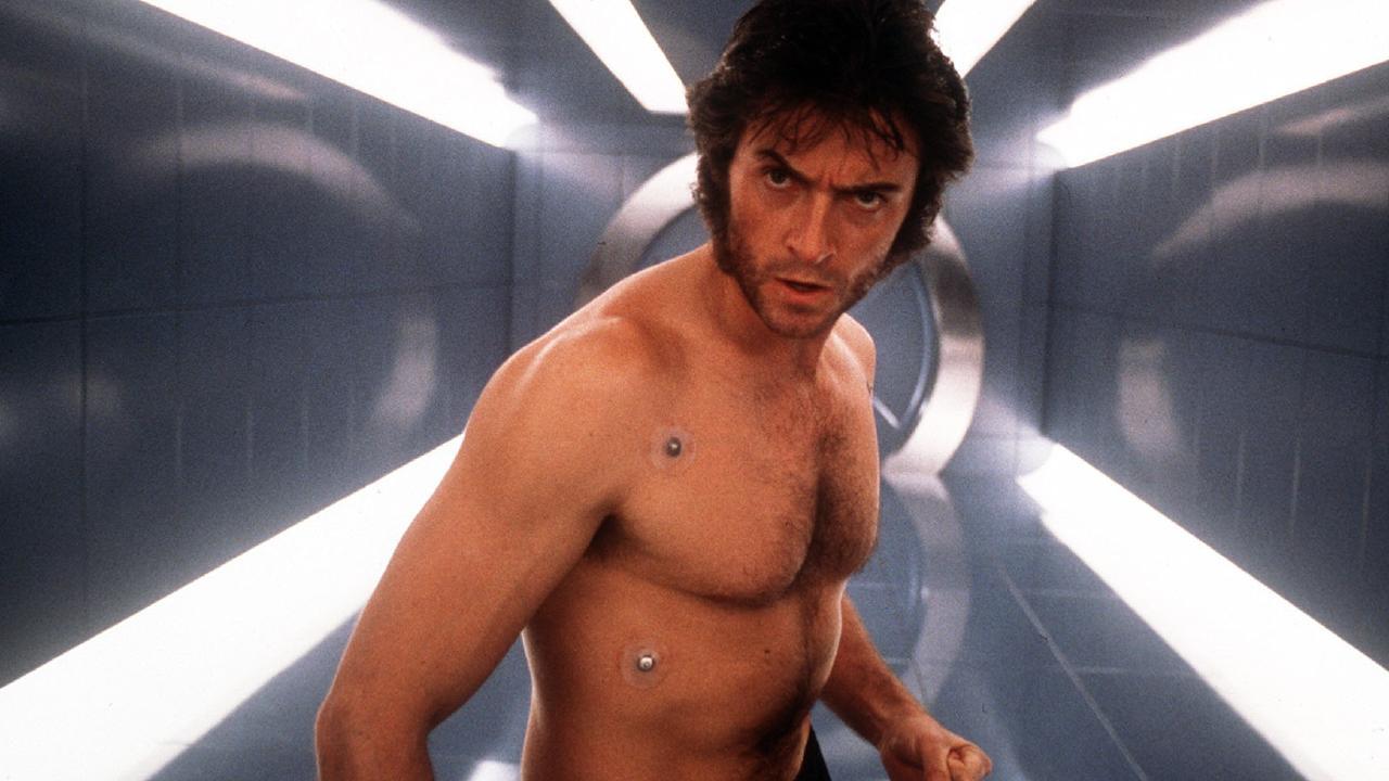 Hugh Jackman in the 2000 X-Men movie.