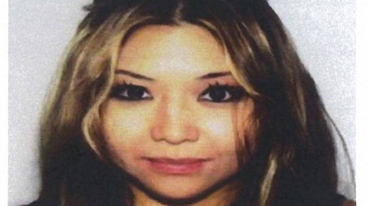Andrea Dorothy Chan Reyesis is accused of fleeing Los Angeles after allegedly being involved in a hit-run accident that killed a cyclist. Picture: FBI