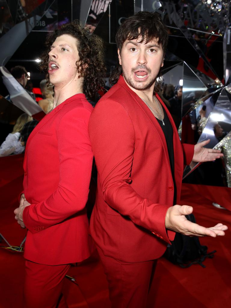Adam Hyde and Reuben Styles of Peking Duk. Picture: Getty