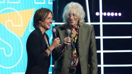 Keith Urban and Bob Geldof, best frenemies? Picture: Getty