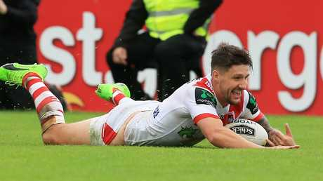 Gareth Widdop reportedly wants out of his current deal at St George. Picture: Mark Evans