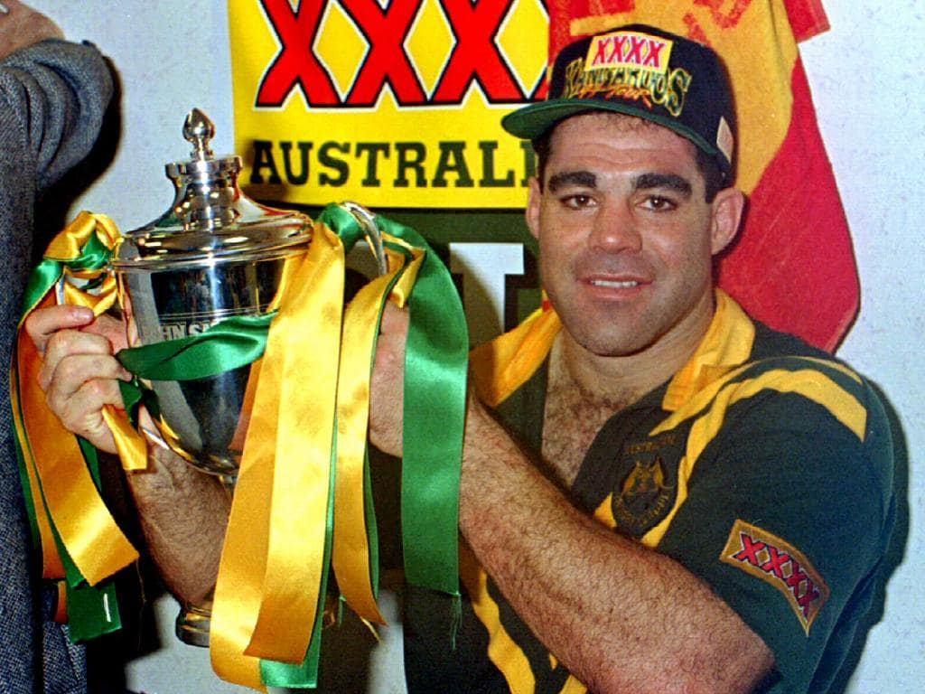 Kangaroo Captain Mal Meninga in 1994.