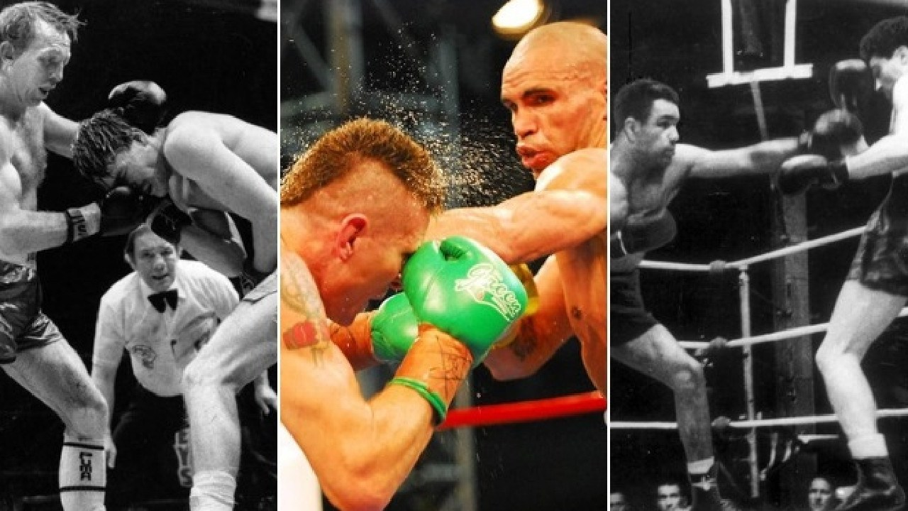 Three of the top 10 rivalries in Australian boxing history.