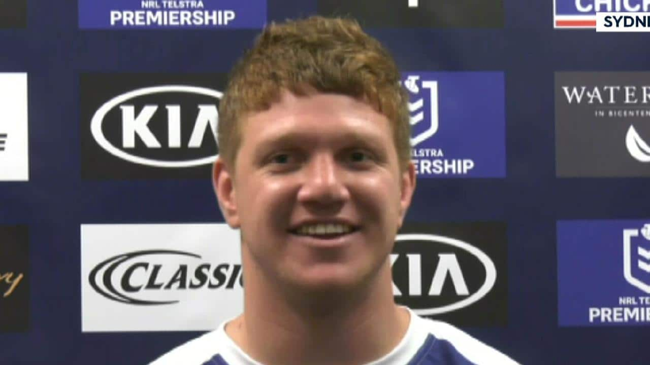 Dylan Napa talks about his move to the Bulldogs.