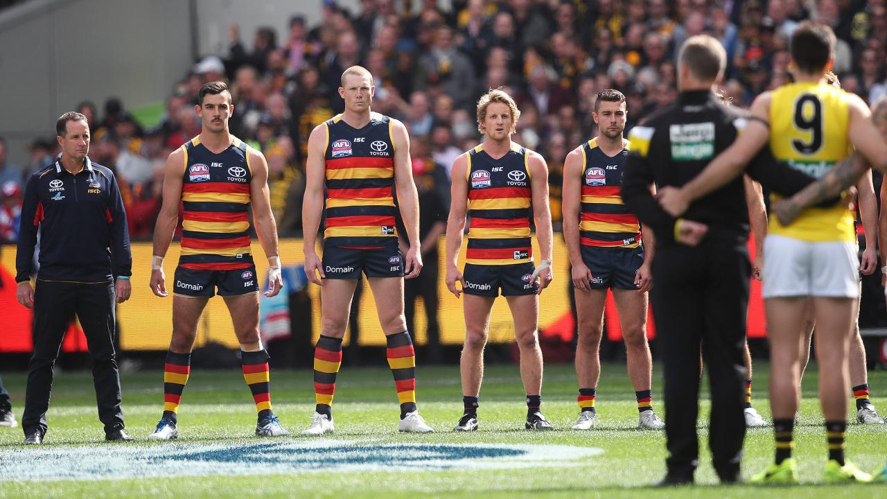 The Crows slipped from a Grand Final to missing the eight last season. Picture. Phil Hillyard