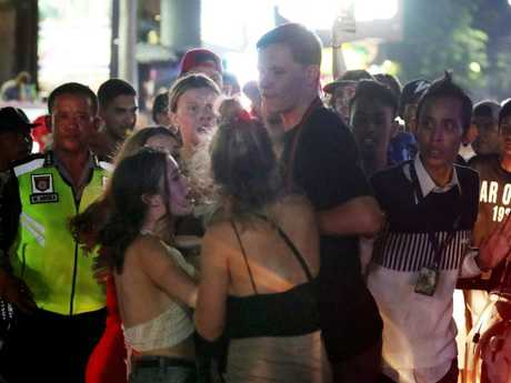 Aussie schoolies are being warned to stay away from drugs in Bali. Picture: Liam Kidston.