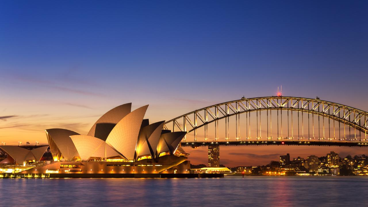 The Sydney Opera House and The Rocks would be locations to visit and learn about Sydney's early history and cultural triumphs.