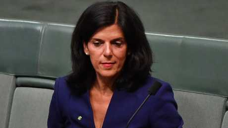 Julia Banks initially announced she would quit politics at the next election and then twisted the knife by claiming the Liberals had subjected her to 'bullying and intimidation'. Picture: AAP