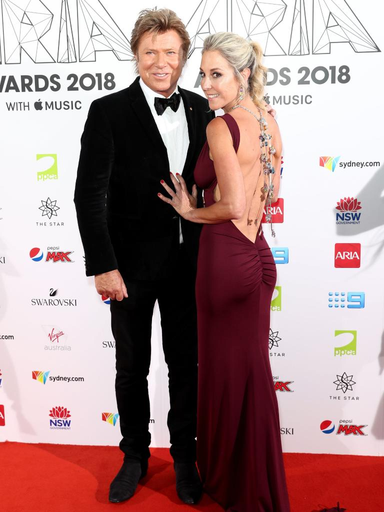 Richard Wilkins and Virginia Burmeister. Picture: Getty