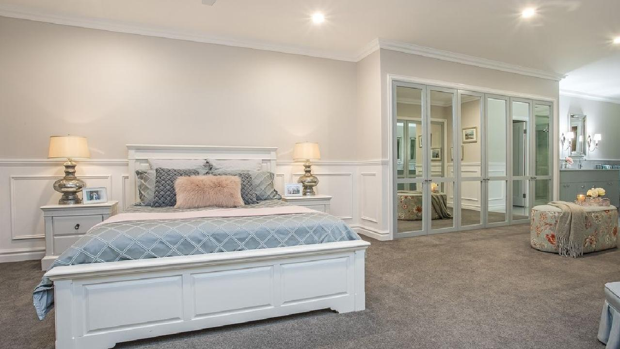The master bedroom in Kedron's top selling house.