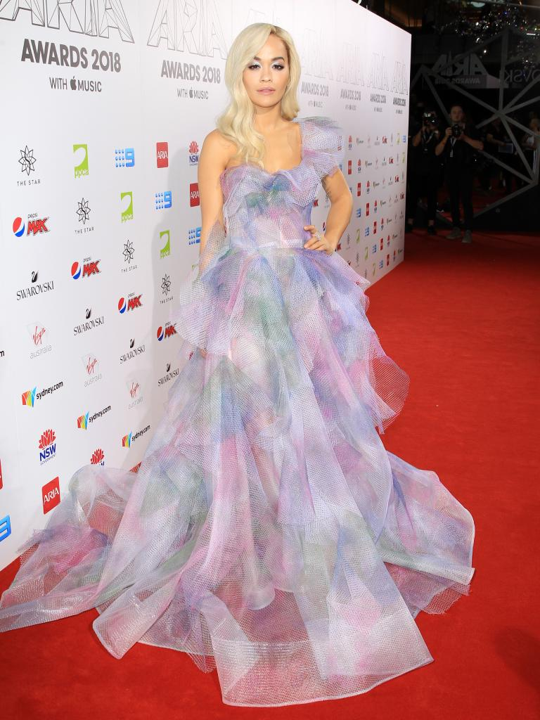 Rita Ora. Picture: Christian Gilles