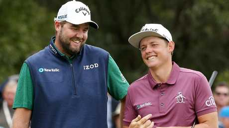Lee held off World Cup pair Marc Leishman and Cameron Smith. Picture: Michael Klein