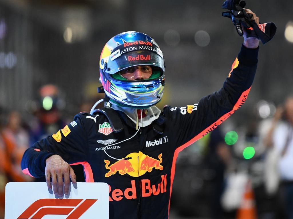 Daniel Ricciardo bid farewell to Red Bull.